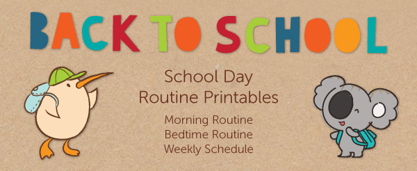 school-day-routine-printables