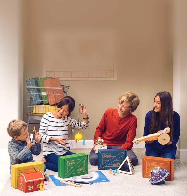 משחקים ועבודות יצירה איכותיים לילדים במחירי מבצע kiwicrate