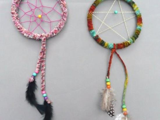 Colorful Dreamcatchers