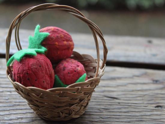 Walnut Strawberries