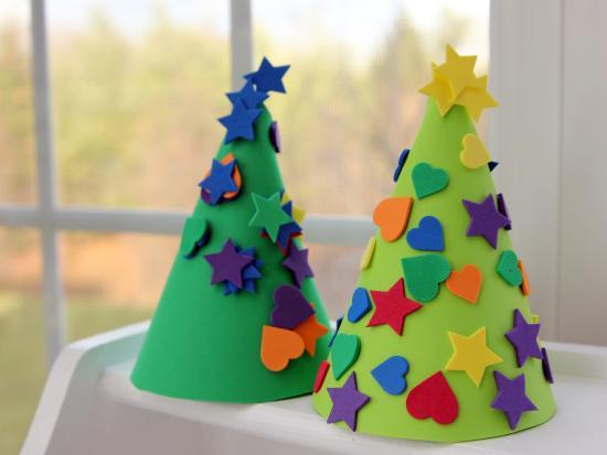 Foam Christmas Trees