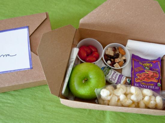 Personal Travel Snack Boxes