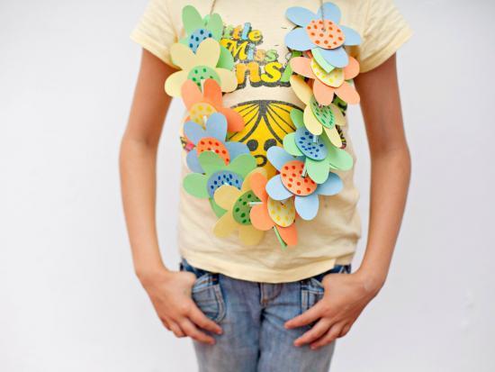 Spring Flower Lei