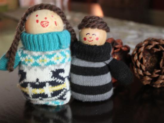 Mitten Dolls