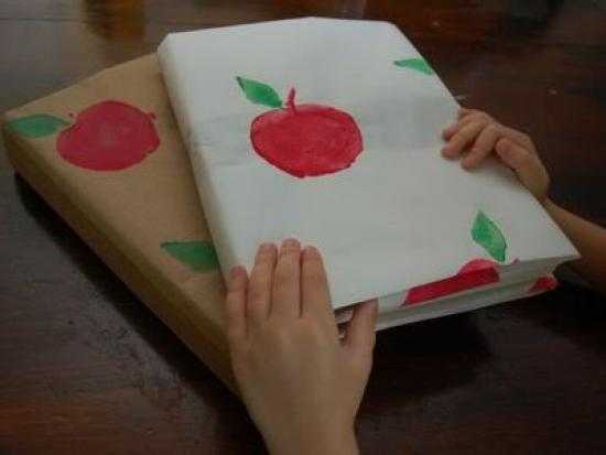 Apple Printed Book Covers
