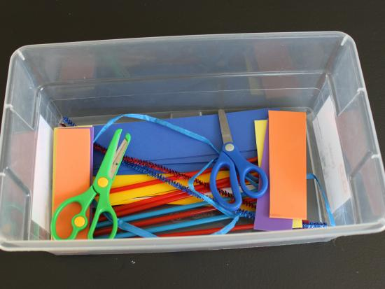 DIY Cutting Box