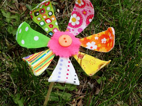 Bendable Fabric Flower
