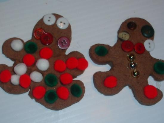 Gingerbread Play Dough