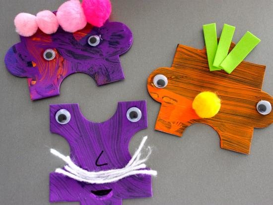 Crazy Creature Magnets