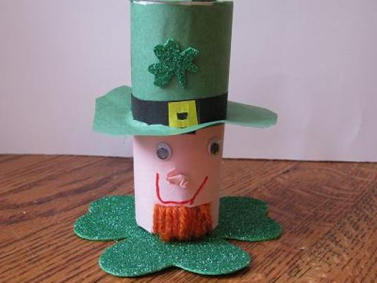 Leprechaun St. Patrick's Day Craft