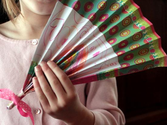 Layered Paper Fan
