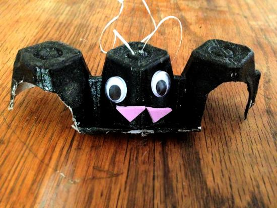 Flying Bat Ornaments