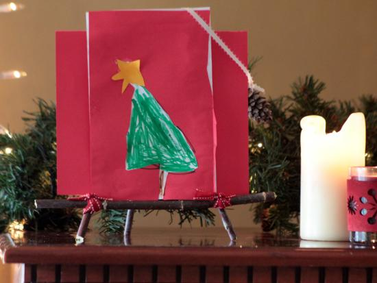 Stick Easel