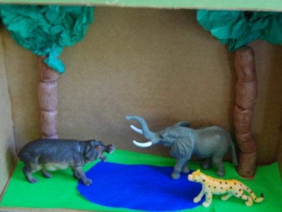 Safari Diorama