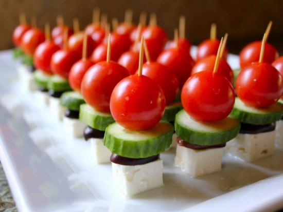 Bite Sized Greek Salad