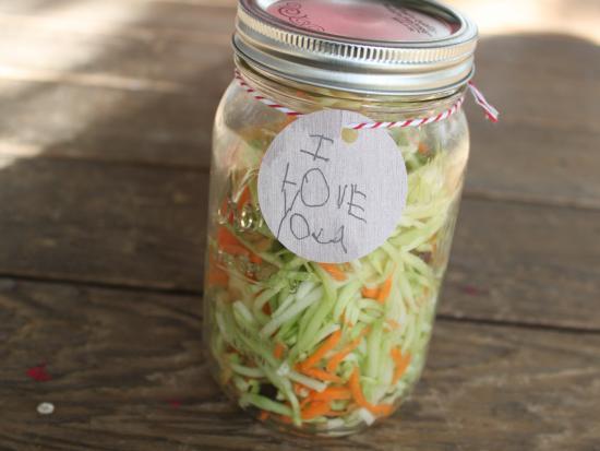 Simple Salad Jar