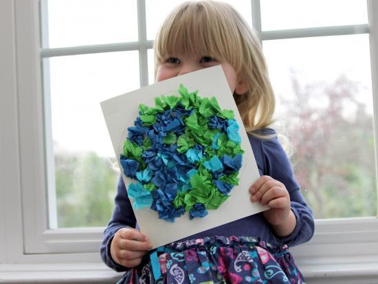 Tissue Paper Globe