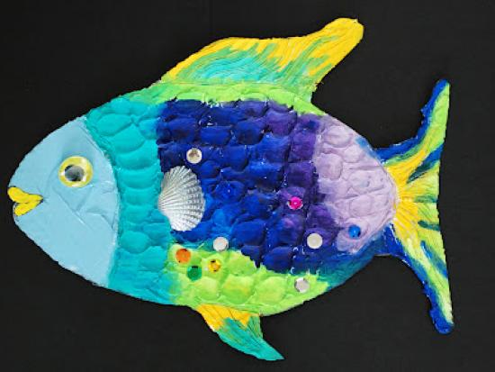 Make a Rainbow Fish