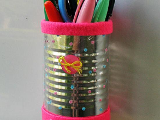 Magnetic Locker Pencil Holder