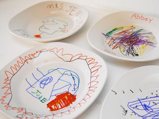 Decorated Ceramic Plates
