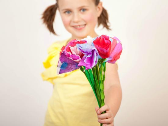 Liquid Watercolor Flowers