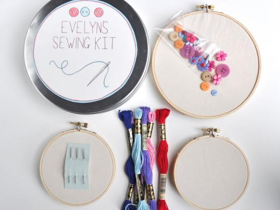 A Sewing Kit for a Little Sewer
