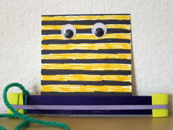 Buzzing Bee Noisemaker