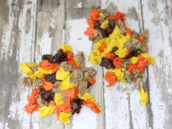 Magnetic Tissue Paper Leaves