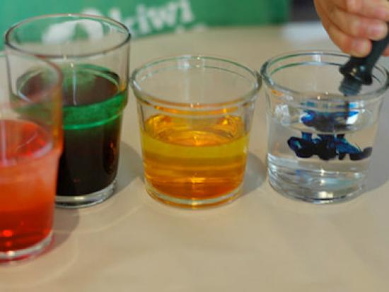 food coloring projects Color changing milk food coloring, and a drop of liquid soap use this experiment to amaze your friends and uncover the scientific secrets of soap.