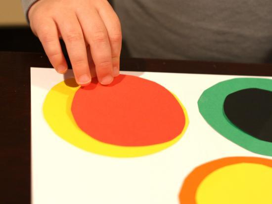 Circles Inside Circles Called Kadinsky's Circles i Called
