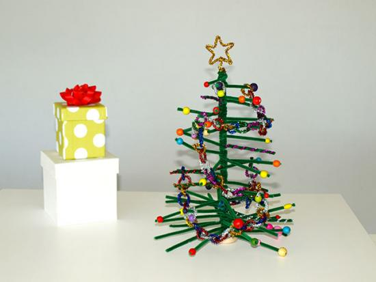 Pipe Cleaner Projects Christmas Pipe Cleaner Christmas Tree
