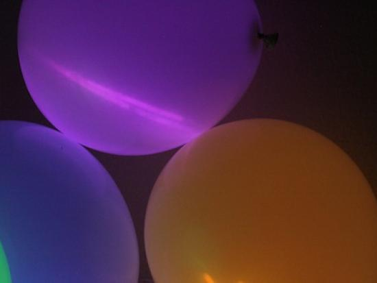 Glow Sticks in Balloons For Halloween Glow Sticks And Balloons