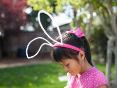 DIY Wire Bunny Ears