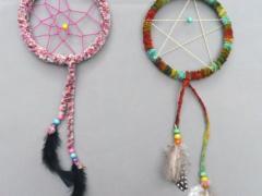 Colorful Dreamcatchers