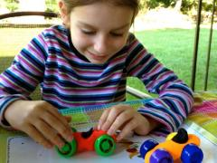 Play Dough Cars