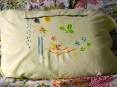 Stencil Pillowcase
