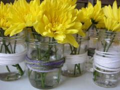 Jar + Yarn = Vase