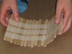 Popsicle Sticks & Masking Tape