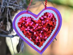 Ruby Red Hearts