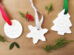 Homemade Dough Gift Tags