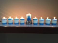 Candlemaking for Hanukkah