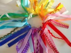 Rainbow Ribbon Hair Band