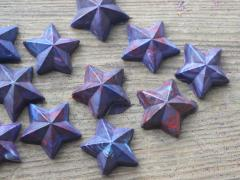 Red, White and Blue Star Crayons