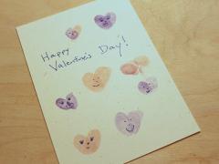 Finger Print Heart Stamp Cards