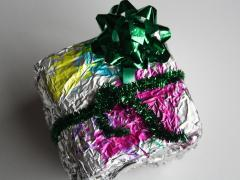 Foil Wrapped Gifts