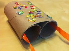 Toilet Paper Roll Binoculars