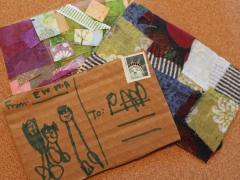 Cardboard Postcards