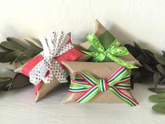 Gift Boxes from Cardboard Rolls