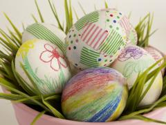 Mess-Free Egg Decorating