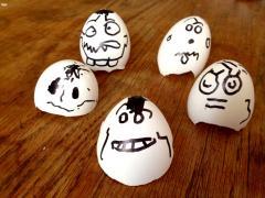 Eggshell Ghost Mobile